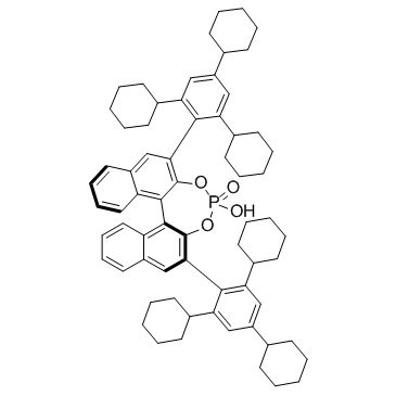 (11bS)-4-hydroxy-2,6-bis(2,4,6-tricyclohexylphenyl)-4-oxide-dinaphtho[2,1-d:1',2'-f][1,3,2]dioxaphosphepin