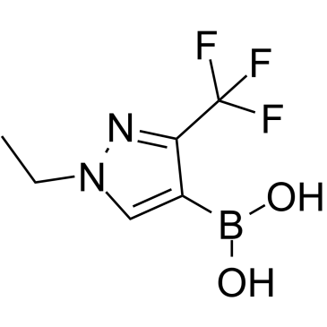 (1-Ethyl-3-(trifluoromethyl)-1H-pyrazol-4-yl)boronic acid