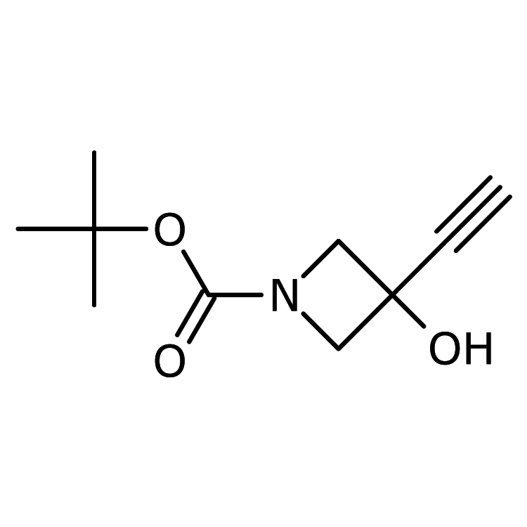 tert-Butyl 3-ethynyl-3-hydroxyazetidine-1-carboxylate