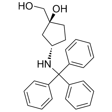 (1S,3S)-1-(Hydroxymethyl)-3-(tritylamino)cyclopentanol