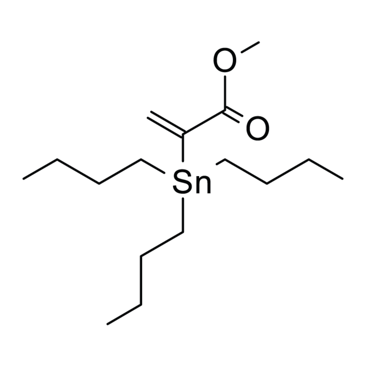 2-(Tributylstannyl)acrylic acid methyl ester