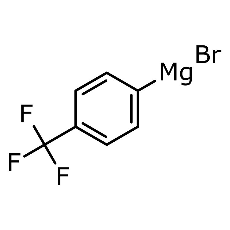 (4-(Trifluoromethyl)phenyl)magnesium bromide, 0.25 M in THF