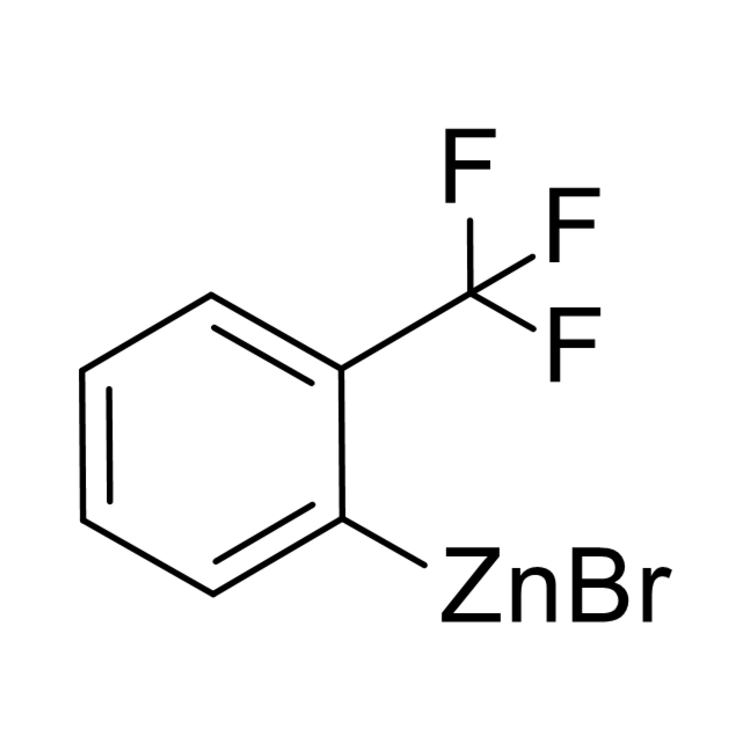 (2-(trifluoromethyl)phenyl)zinc bromide, 0.50 M in THF