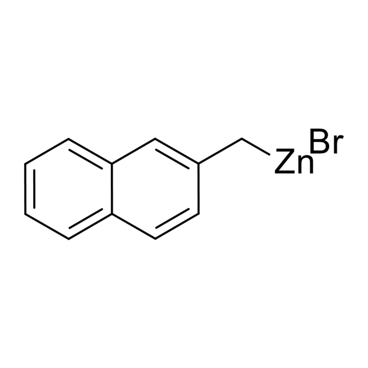 (2-Naphthylmethyl)zinc bromide, 0.50 M in THF