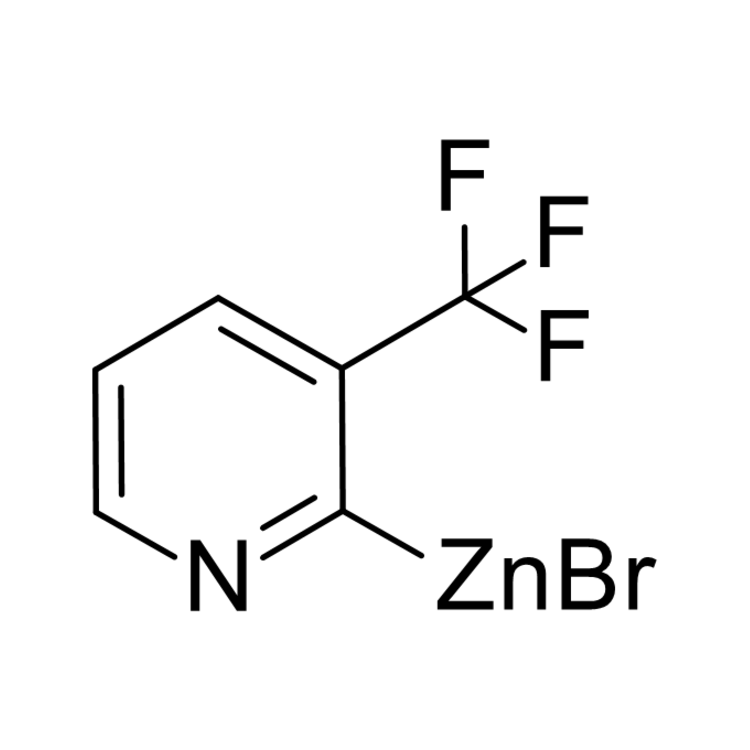 (3-(trifluoromethyl)pyridin-2-yl)zinc bromide, 0.25 M in THF