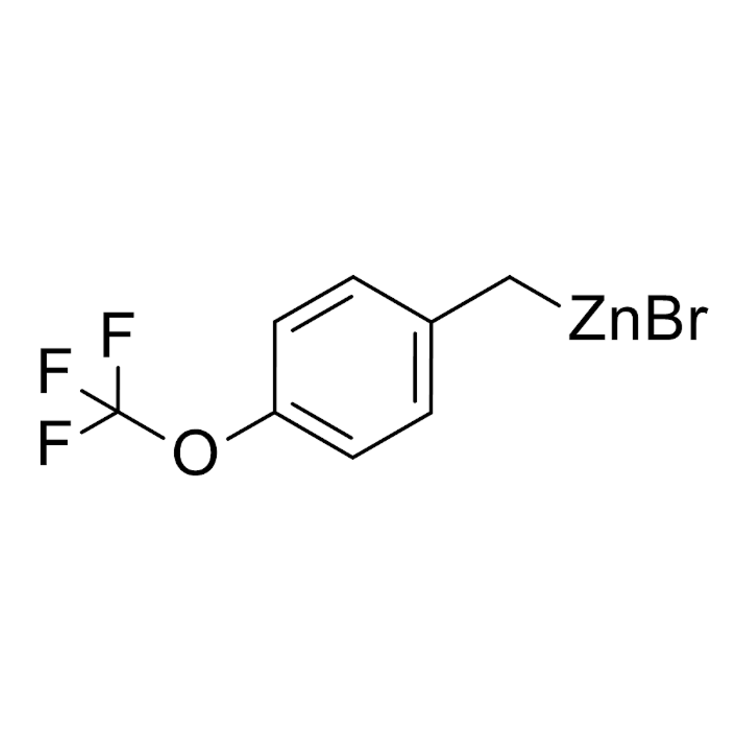 (4-(trifluoromethoxy)benzyl)zinc bromide, 0.50 M in THF