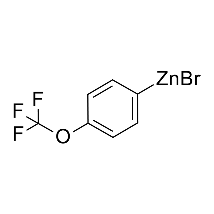 (4-(trifluoromethoxy)phenyl)zinc bromide, 0.50 M in THF