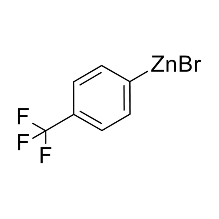 (4-(Trifluoromethyl)phenyl)zinc bromide, 0.50 M in THF