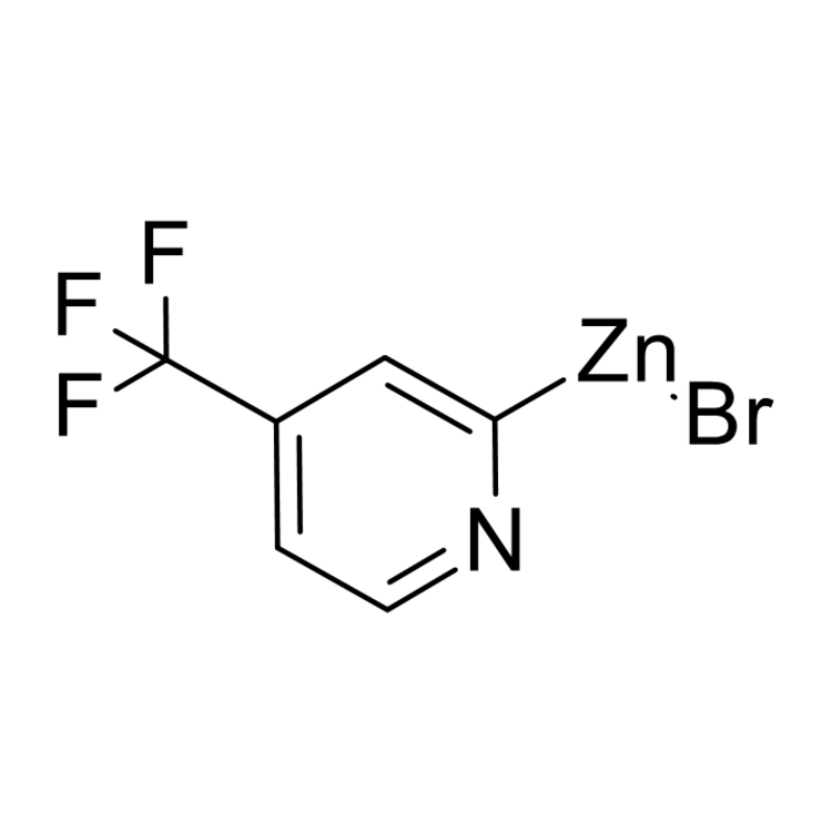 (4-(trifluoromethyl)pyridin-2-yl)zinc bromide, 0.25 M in THF