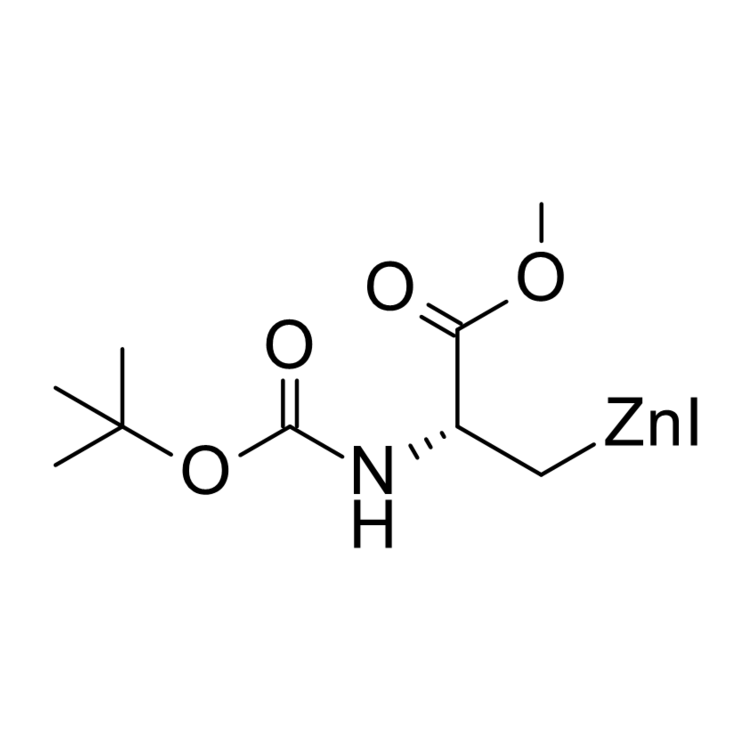 (R)-2-tert-Butoxycarbonylamino-3-methoxy-3-oxopropylzinc iodide, 0.50 M in THF