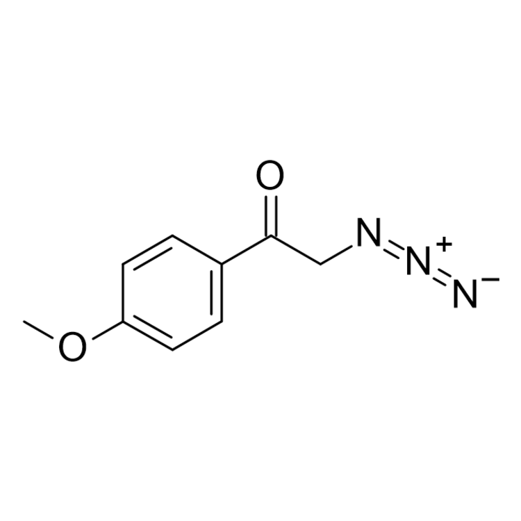2-Azido-1-(4-methoxy-phenyl)ethanone