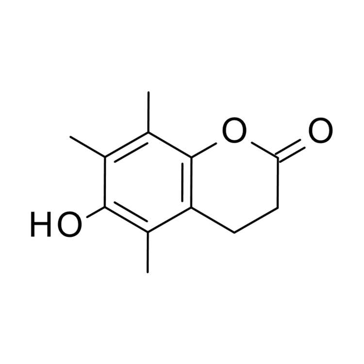 6-Hydroxy-5,7,8-trimethyl-3,4-dihydro-2H-1-benzopyran-2-one