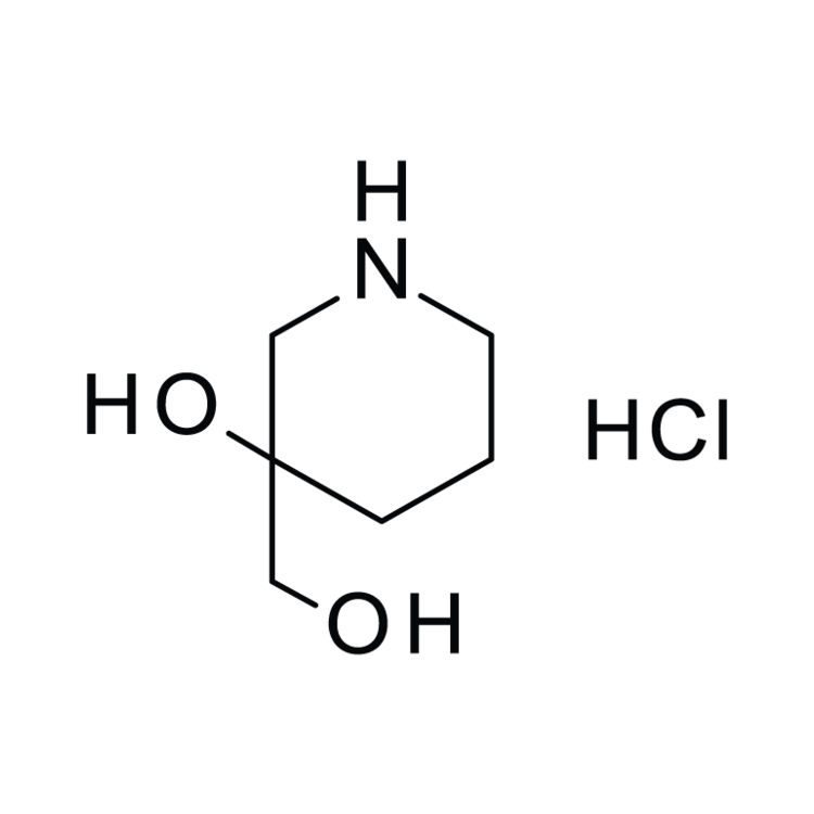 3-(Hydroxymethyl)piperidin-3-ol hydrochloride
