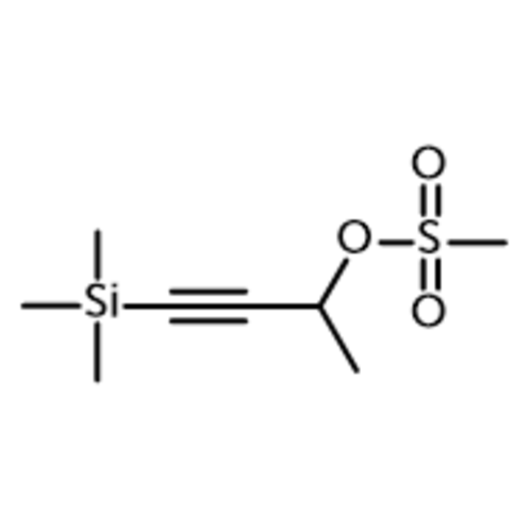 (1-Methyl-3-trimethylsilylprop-2-ynyl) methanesulfonate