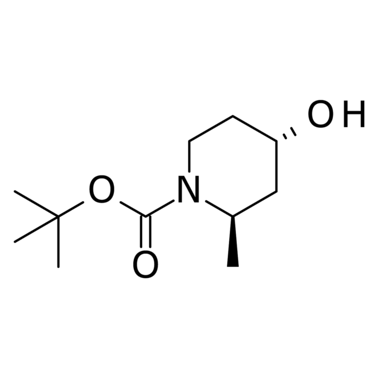 (2R,4S)-1-Boc-2-methyl-4-hydroxypiperidine