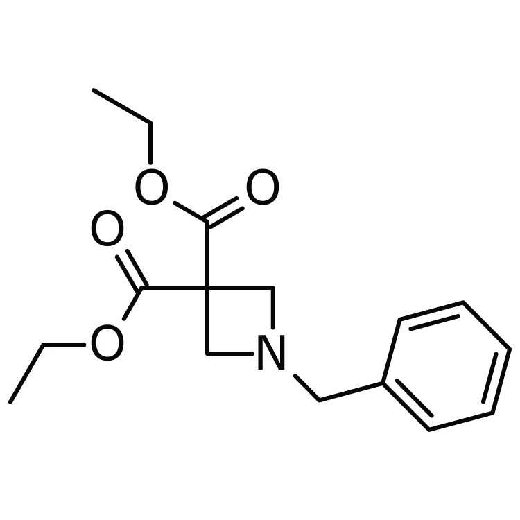Diethyl 1-benzylazetidine-3,3-dicarboxylate