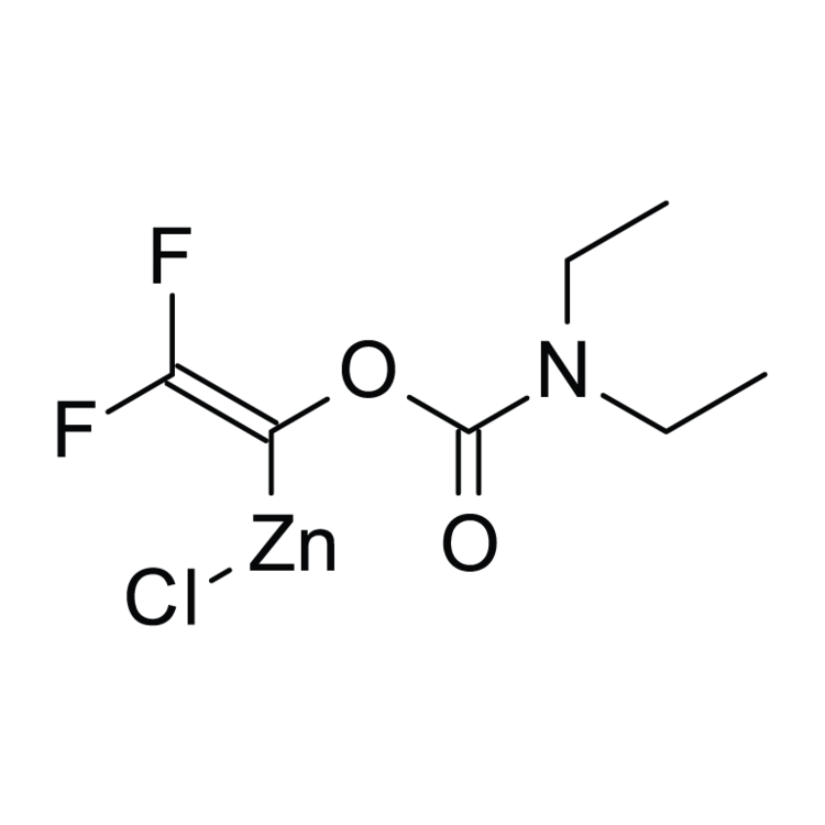 [1-(Diethylcarbamoyloxy)-2,2-difluoro-vinyl]zinc chloride, 0.25M in THF/Hexanes