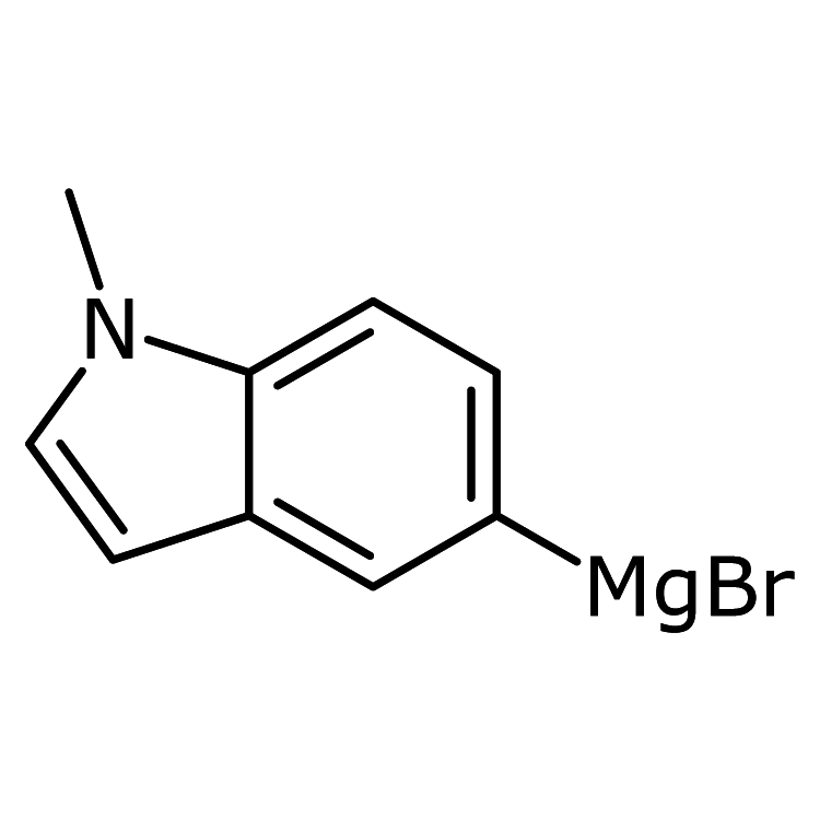 N-Methylindole-5-magnesium bromide, 0.5M in THF