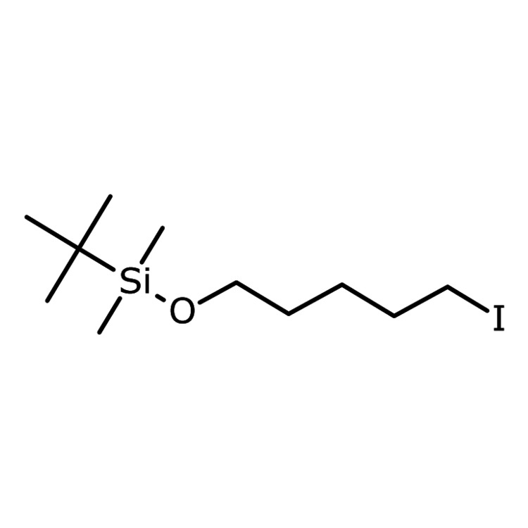 (1,1-Dimethylethyl)[(5-iodopentyl)oxy]dimethylsilane