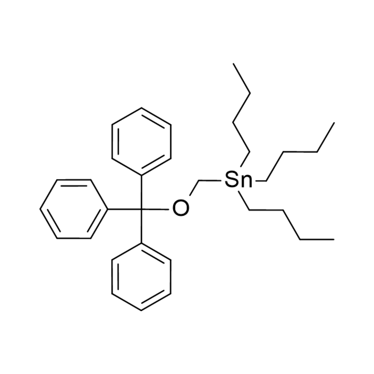 Tributyl(trityloxymethyl)stannane